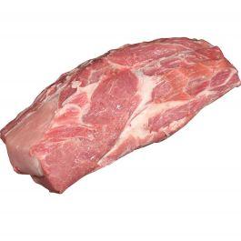 Frozen boneless pork collar